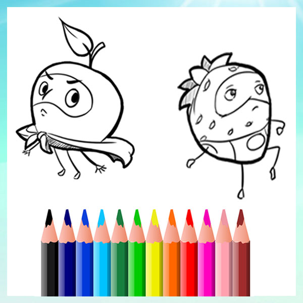 Free - Kids Colouring Pages